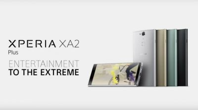 Sony Xperia XA 2 Plus Launched with 23MP Camera
