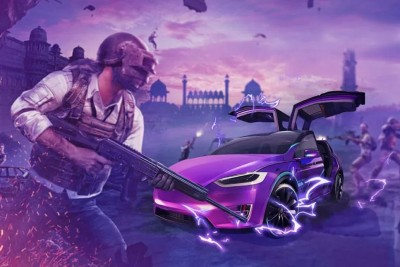 Tesla in PUBG Mobile video game, update the latest version soon