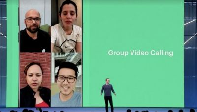 Group video calling updates received on WhatsApp