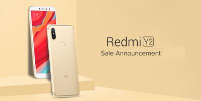 Redmi Y2 big sale on Amazon
