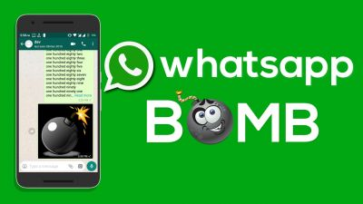 Whatsapp Bomb can cause your Android smartphone to crash!