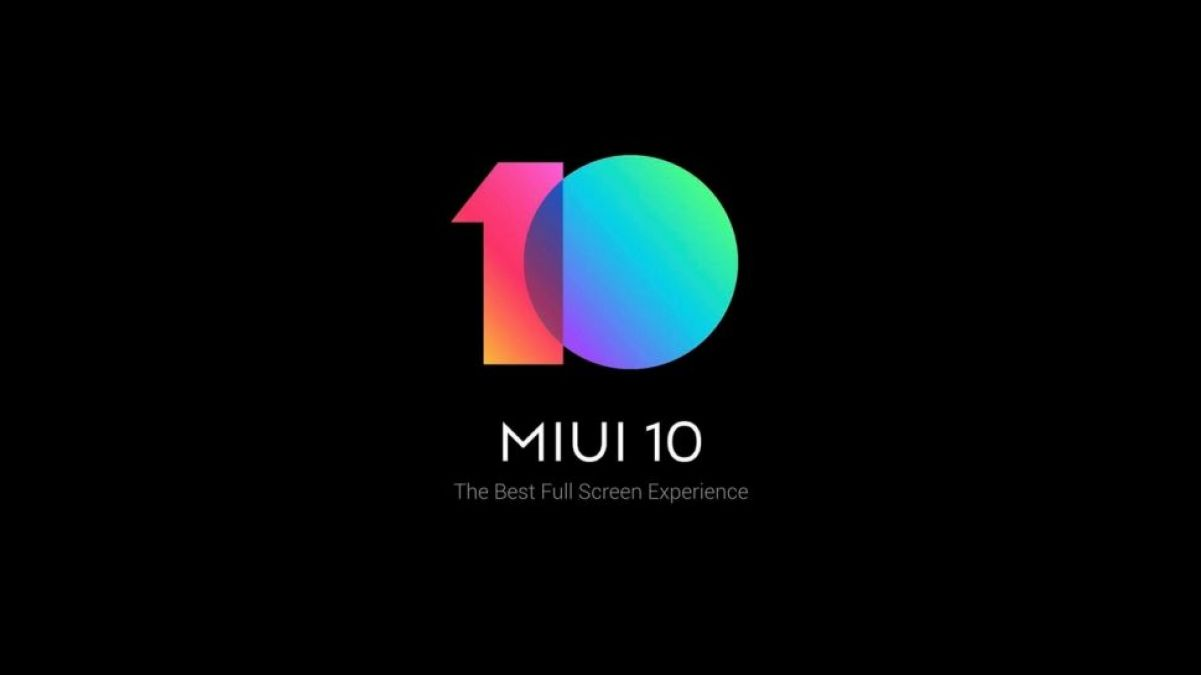 Xiaomi released MIUI 10 firmware with Dark Mode