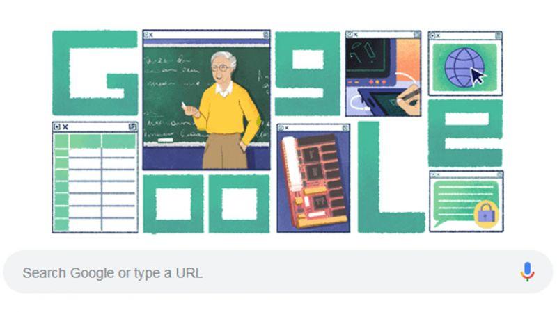 Google dedicates its doodle to computer scientist Michael Dertouzos