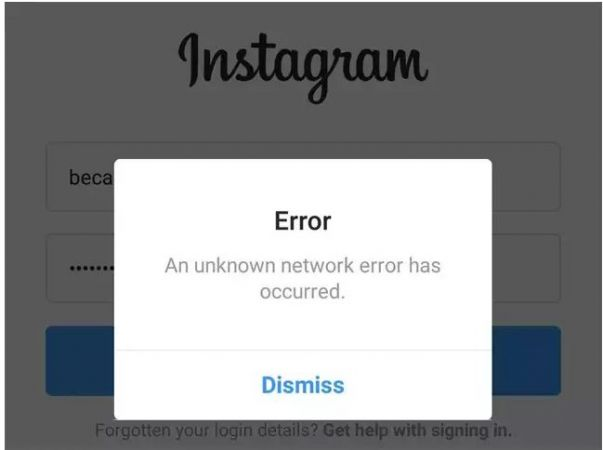 INSTAGRAM  functions again, DOWN for 40 mins, App showed