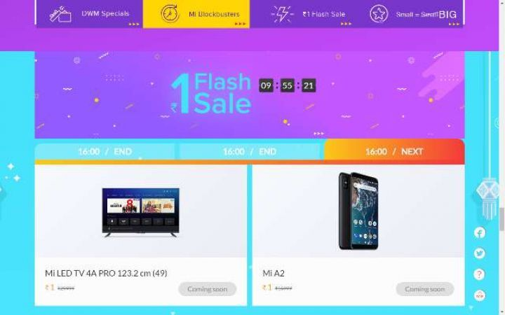 XIAOMI Diwali Sale: Today on the last day, the smartphone with a 20 + 12MP camera is available just 1 rupee