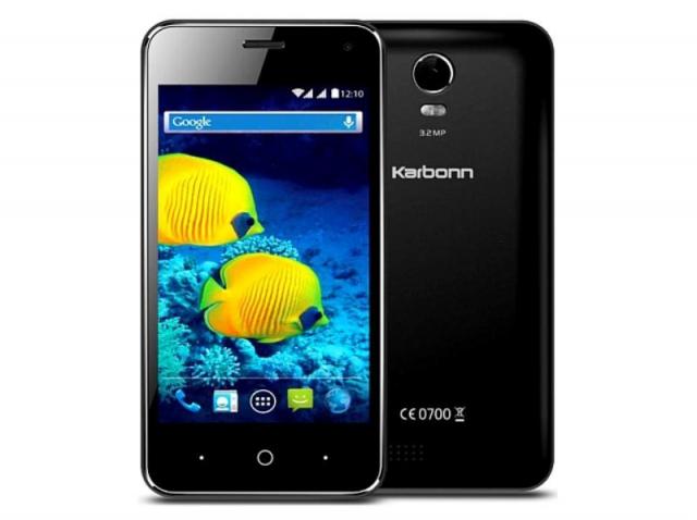 कार्बन ने लॉन्च किया अपना लो बजट 3G स्मार्टफोन