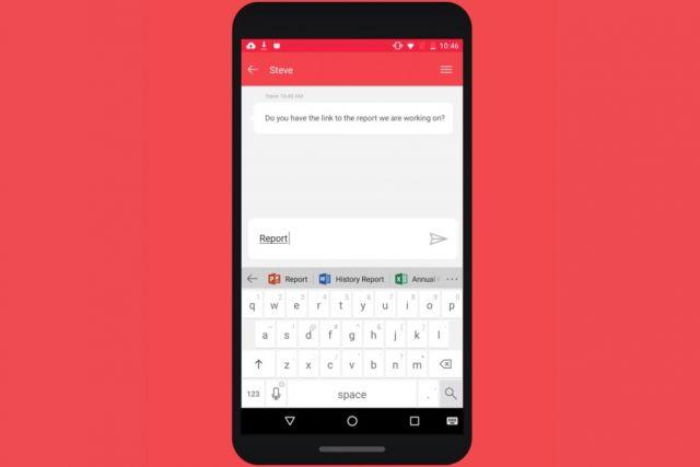 एंड्रॉयड स्मार्टफोन के लिए माइक्रोसॉफ्ट ने लॉन्च किया खास कीबोर्ड