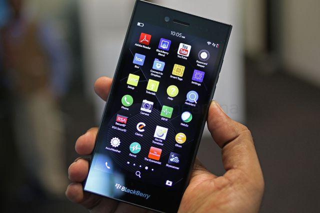 भारत में 7 मई को आएगा ब्लैकबेरी का लीप स्मार्टफोन