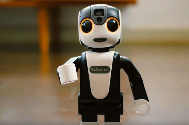 जापानी कंपनी ने लॉन्च किया एक रोबोटिक स्मार्टफोन