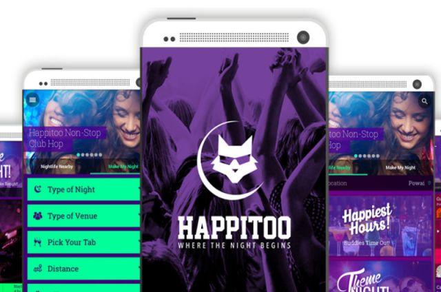 युवाओं के लिए लॉन्च नाइटलाइफ़ Happitoo App