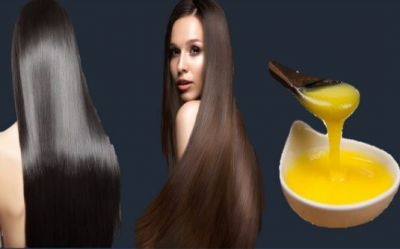 Desi Ghee is Beneficial for hair, will become strong and silky