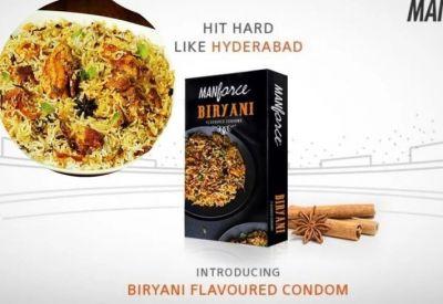अब लें हैदराबादी बिरयानी फ्लेवर्ड कॉन्डम का मजा, लोगों के उड़ रहे होश