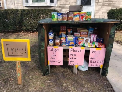 This family put up free pantry for needy amid lockdown