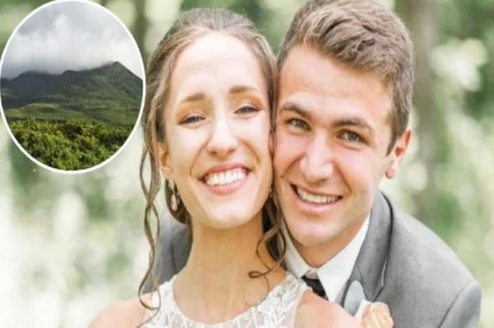 Couple went for Honeymooners at an altitude of 12 thousand feet, Husband's feet slipped and then..