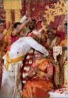 VIDEO: Groom wears Mangalsutra, bride cries bitterly