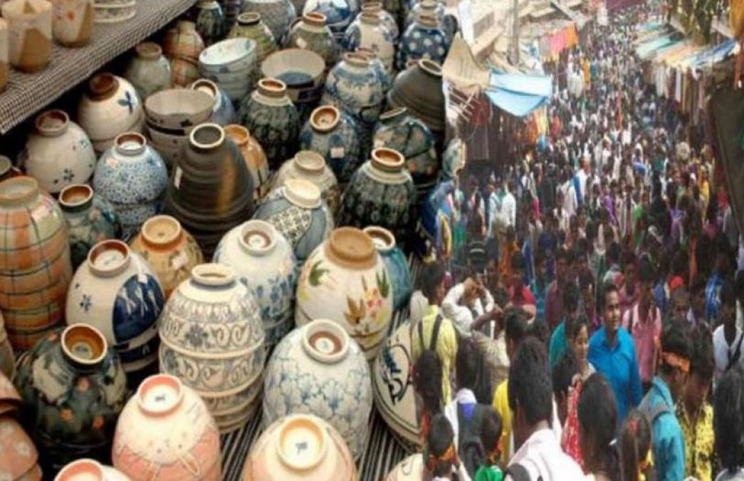 Always buy a Matka (Clay Pot) from this fair for good luck