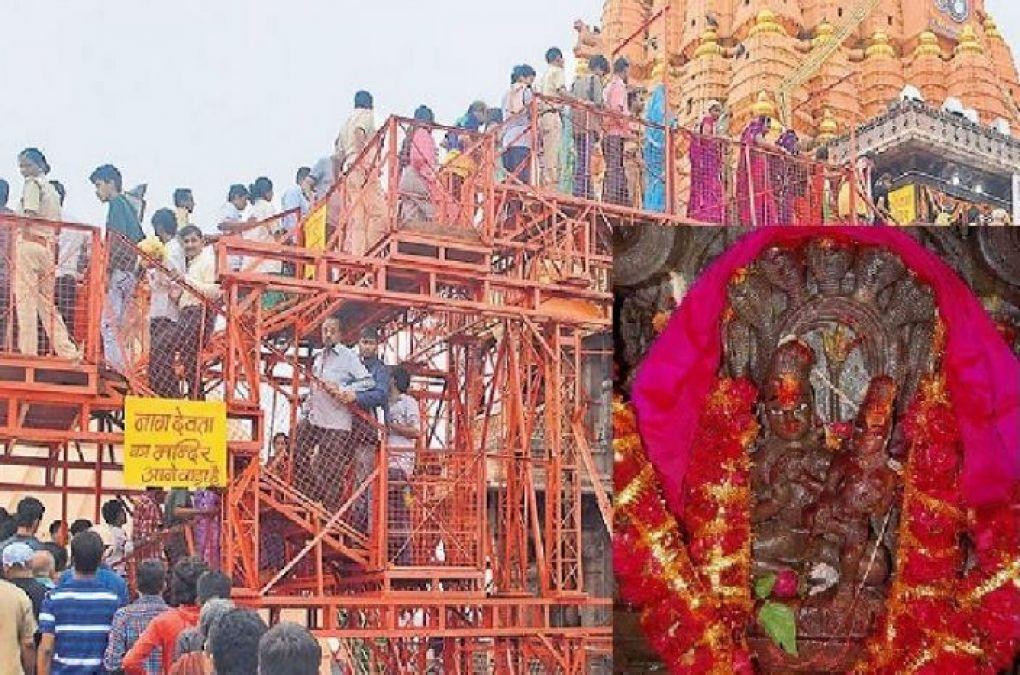 नागपंचमी के खास अवसर पर ही खुलता है मध्य प्रदेश का ये मंदिर