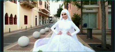 lebanese bride wedding video surface beirut explosion behind sc108 nu612 ta612