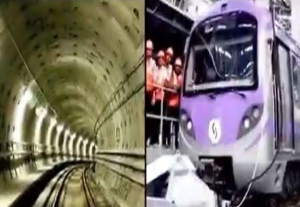 अब भारत में भी दौड़ेगी पानी के नीचे ट्रेन, रेल मंत्री ने शेयर किया वीडियो