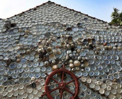 Ex-Vietnam soldier decorated his house with thousands of Chinese utensils