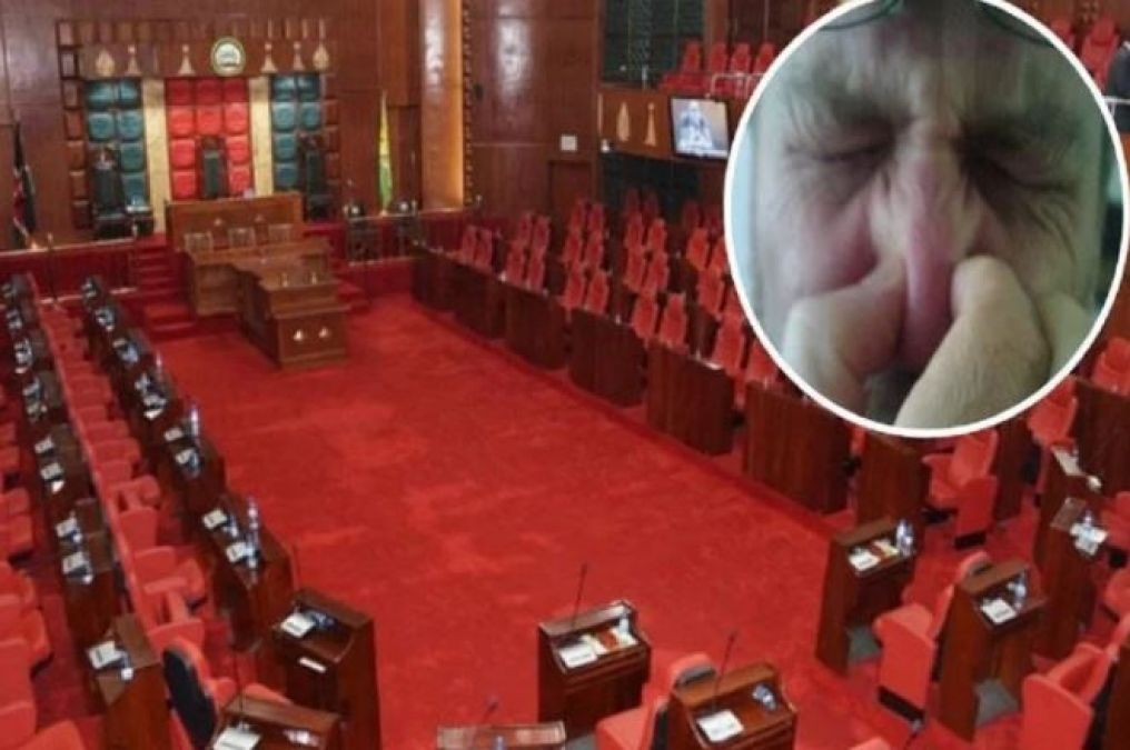 The MLA in the  Assembly farted in such a manner that somebody caught the nose, somebody hid the face!
