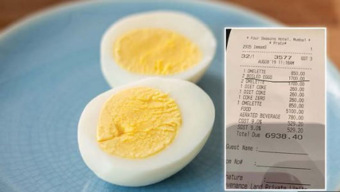 This Hotel In Mumbai Recovered Rs 1700 For 2 Eggs, Know What's The Case!