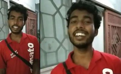 Zomato Boy wins hearts with his melodious voice, video goes viral on social media