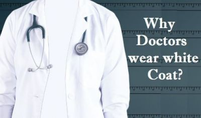 So this is why doctors wear white coats!