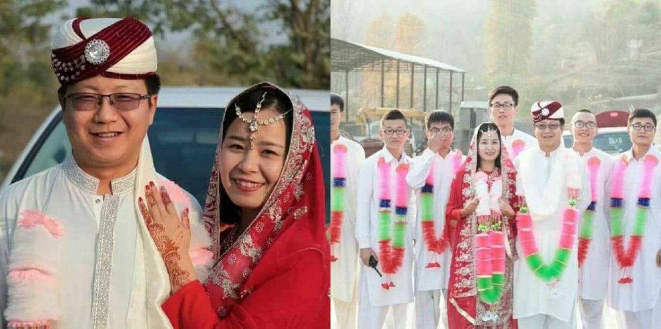 इस चीनी कपल ने की पाकिस्तानी रिवाज से शादी, जानें क्या है मामला