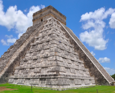 This is the world's most mysterious pyramid, sound of chirping of birds comes on clapping