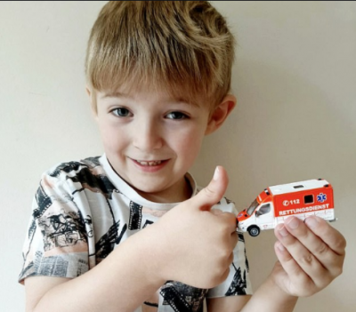 Five-year-old child saves his mother's life with the help of 'toys'