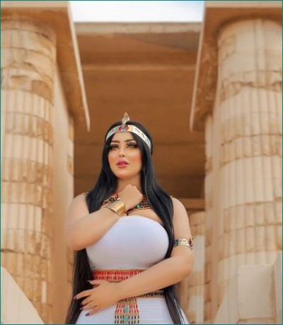 Model, photographer arrested over pyramid photoshoot wearing revealing ancient costume