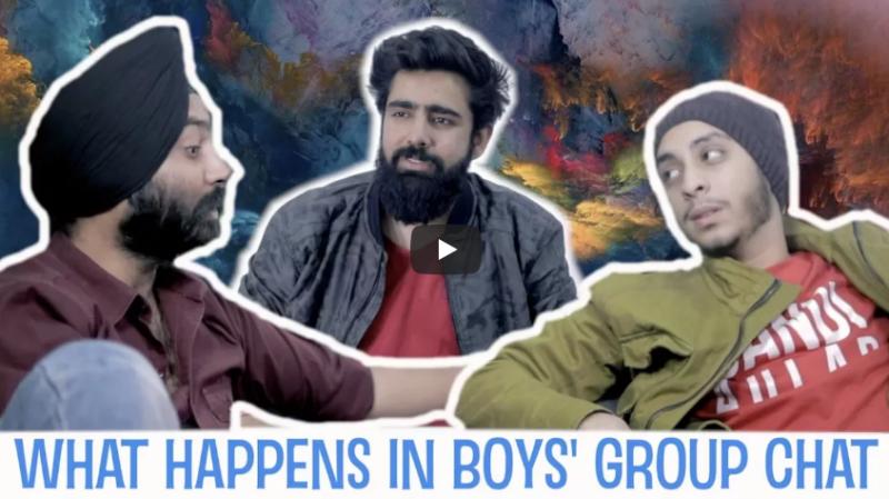क्या होता है लड़कों के Chat ग्रुप में, हंस हंस कर लोटपोट हो जाएंगे आप