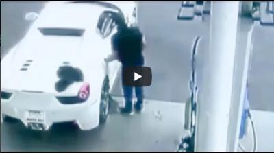 Video : बड़े ही swag से चुराई थी फरारी फिर अचानक हुआ कुछ ऐसा