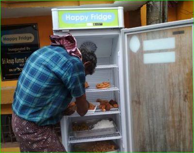 NGO installs 'Happy Fridges' to provide free food to needy in Varanasi