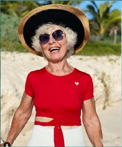 74-year-old woman becomes fitness influencer, know how