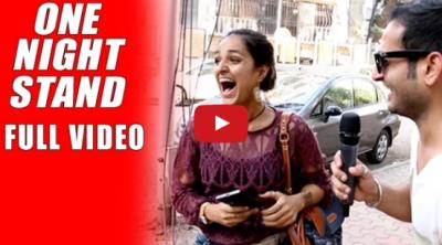 Video : वन नाईट स्टैंड पर क्या कहती है मुम्बई ?