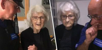 Police arrests 93-year-old grandmother for this strange reason