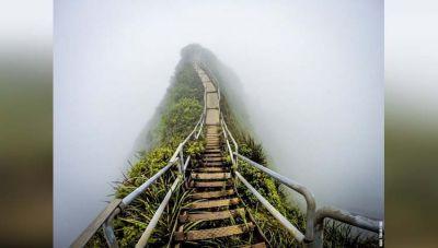 Hawaai की सीढ़ियों को माना गया है स्वर्ग की सीढ़ियां