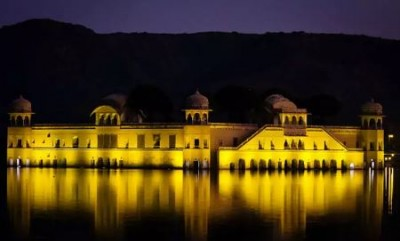 221 years old palace surrounded by water known for its serene beauty