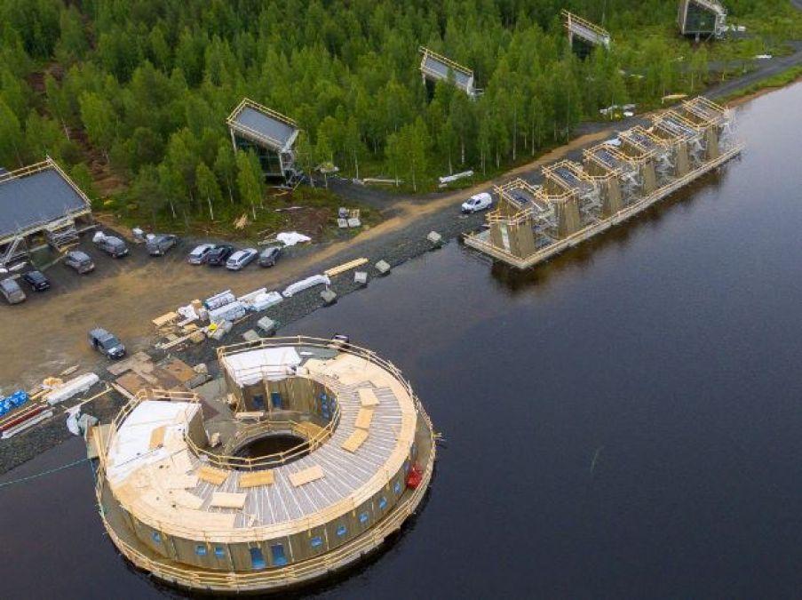 बेहद खूबसूरत है नदी पर तैरता होटल, 2021 के लिए बुकिंग हुई शुरू