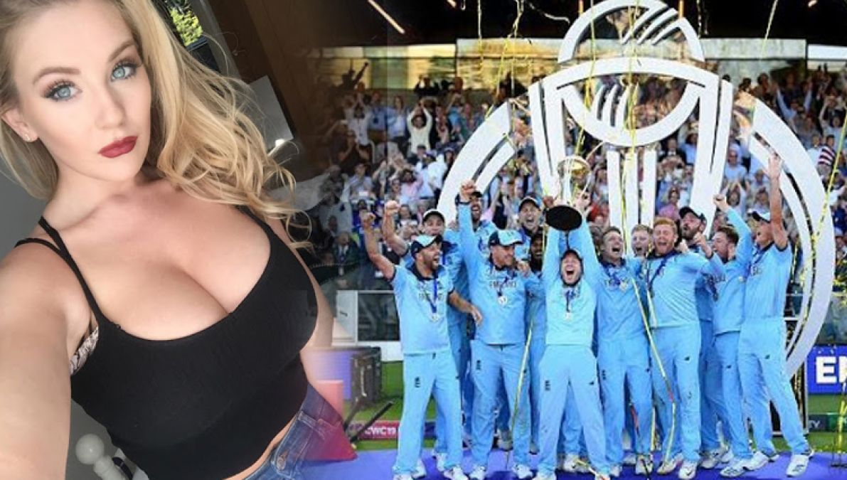 Adult star shares hot post on England's victory in world Cup, Netizens say England's Poonam Pandey