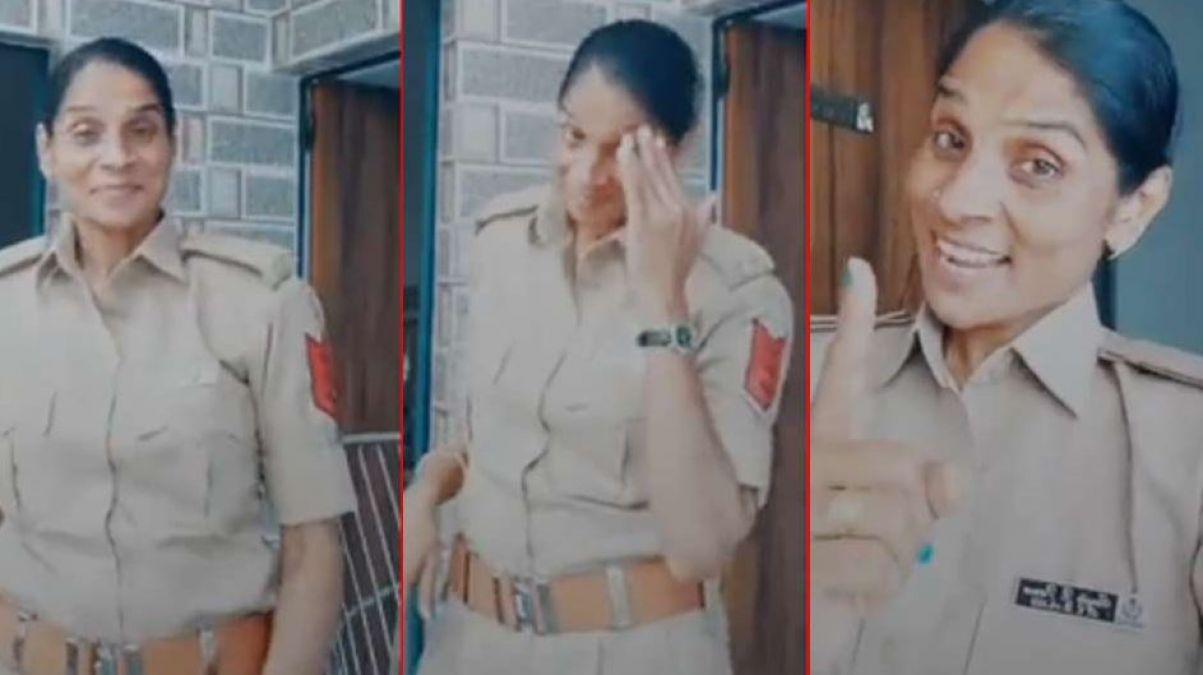 महिला पुलिस पर होगी कार्रवाई, थाने में वीडियो बनाकर टिक-टॉक पर करती थी ऐसा काम