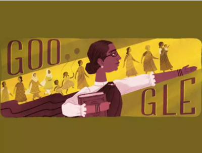 She was the country's first female legislator, Google created its doodle exclusively!