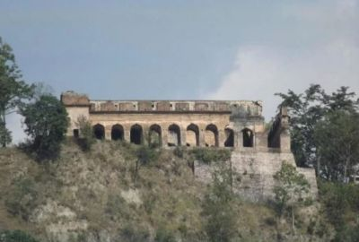 Old Abandoned fort and myths about hidden Treasure