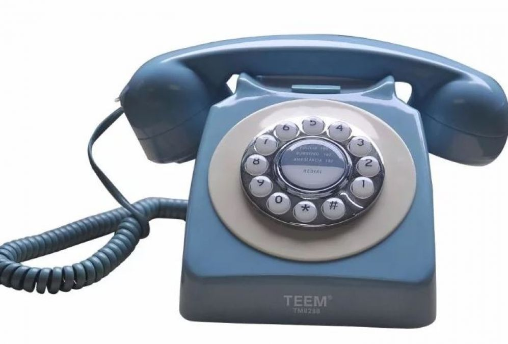 Know when the first time was spoken Hello on the phone before it used to say these words