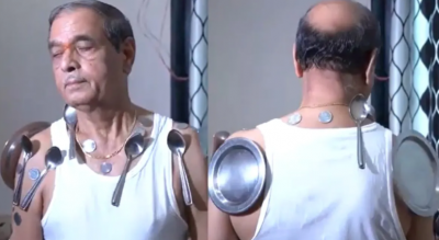 VIDEO: Man claims he got magnetic powers after taking second dose of COVID-19 vaccine