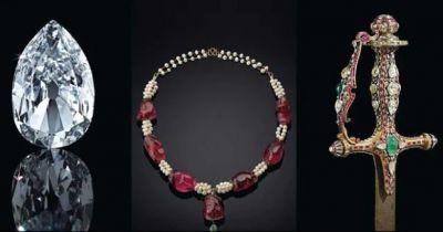 Hyderabadi Diamond Necklace take to bid in the US....