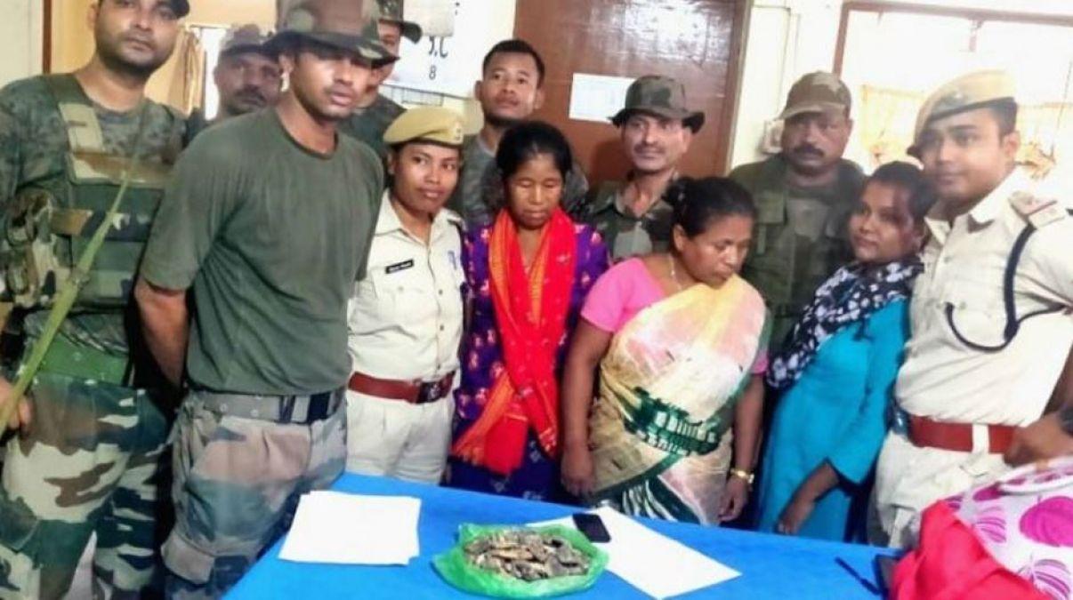 10 करोड़ रु के हीरे के साथ पकड़ाई दो महिलाएं, असम राइफल्स ने ऐसे किया पर्दाफाश