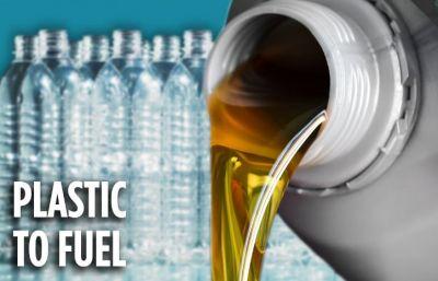 शख्स ने प्लास्टिक से बना दिया पेट्रोल, इस कीमत में हो रही बिक्री